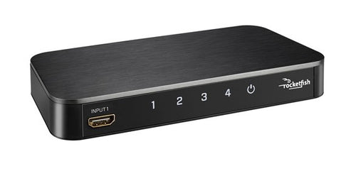 Rocketfish 4-Port 4K HDMI Switch (RF-G1501-C)