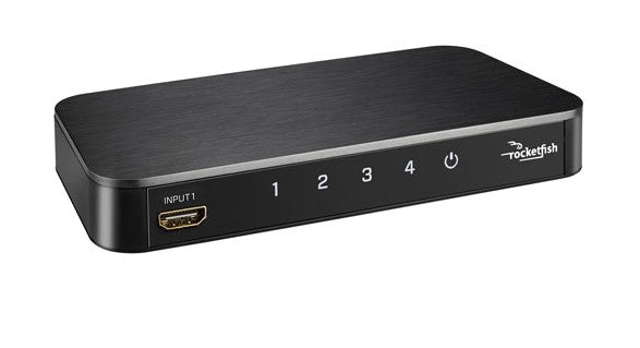 Rocketfish 4-Port 4K HDMI Switch (RF-G1501-C) ($60 Incl Tax)