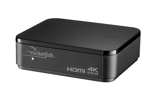 Rocketfish - 2-Output HDMI Splitter with 4K and HDR Pass-Through (RF-G1603-C)