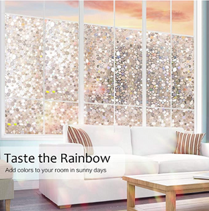 Rabbitgoo Window Privacy Glass Film 17.5 x 78.7 inches (45x200cm) ($15 Incl Tax)