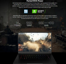 Load image into Gallery viewer, RAZER BLADE 15 ADVANCED - WORLD'S SMALLEST GAMING LAPTOP!