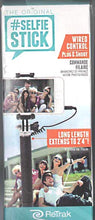 Load image into Gallery viewer, ReTrak Bluetooth Selfie Stick Monopod - Black
