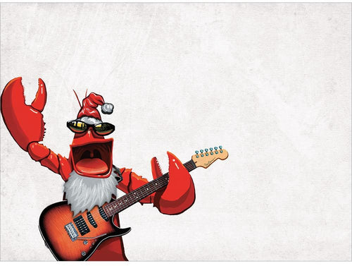 Rock Lobster Christmas Cards - 10 Pack ($10 includes Tax)