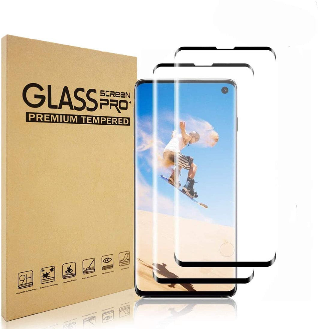 Galaxy S8, S9, S10 & S20 Tempered Glass Screen Protector (2 Pack)