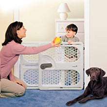 "Load image into Gallery viewer, USED Easy-Fit Baby Gate - 26"" X 25"" X 3.5"" Pressure Mount NO HARDWARE needed"