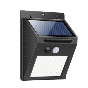 IP44 Water Resistant Sensor Garden Solar Light Motion Detection for Security