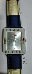 Tommy Hilfiger Watch - *glue showing on inside of glass*