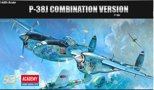 Academy 1/48 P-38J Combination Version    ACA12282