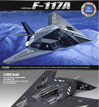 Load image into Gallery viewer, Academy 1/72 F-117A Stealth Fighter/Bomber ACA12475