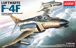 Academy 1/144  Phantom F-4F Luftwaffe  (ACA12611) ($10 Incl Tax)