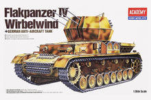 Load image into Gallery viewer, Academy 1/35 German WirbelWind Self Propelled Anti Aircraft Gun ACA13236 ($32 Incl Tax)