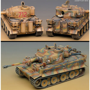 Academy 1/35 German Tiger-I Early Version Tank ACA13239 ($75 Incl Tax)