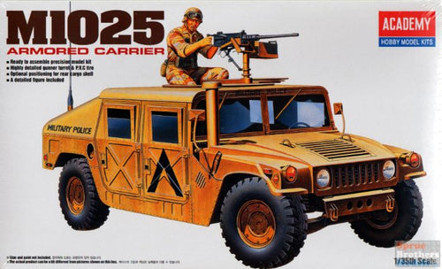 Academy 1/35 M-1025 Hummer Armored Carrier ACA13241