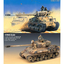 Load image into Gallery viewer, Academy 1/35 IDF M-51 Super Sherman Tank ACA13254