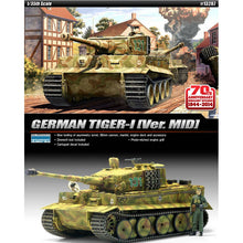 "Load image into Gallery viewer, Academy 1/35 TIGER-I Mid Version ""Anniv.70 Normandy Invasion 1944"" LE: ACA13287"