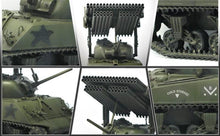 "Load image into Gallery viewer, Academy 1/35 M4A3 Sherman W/ T34 ""Calliope"" Multiple Rocket Launcher ACA13294"