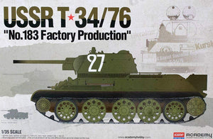 "Academy 1/35 USSR T-34/76 ""No.183 Factory Production"" ACA13505"