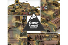 "Load image into Gallery viewer, Academy 1/35 German Pz.Kpfw.IV Ausf.H ""MID Version"" Medium Tank ACA13516"