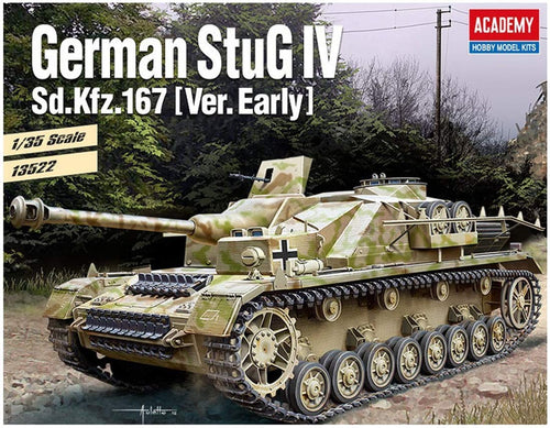 Academy 1/35 German StuG IV Sd.Kfz.167 Early Version Assault Gun ACA13522