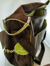Load image into Gallery viewer, Child of Mine made by Carter's Carter's Child of Mine Zip down Front Diaper Bag ($30 Incl Tax)