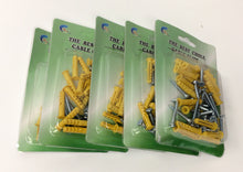 Load image into Gallery viewer, Chole Cable Clips Yellow 6mm 5 piece ($10 Incl Tax)