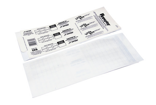 JT Eaton 166 Perforated Universal Glue Board Insert - 72/Case