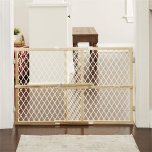 North States Brown Toddleroo by North States Diamond Mesh Baby Door (42.0 in. Wide), installs fast ($20 Incl Tax)