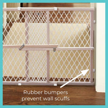 Load image into Gallery viewer, North States Brown Toddleroo by North States Diamond Mesh Baby Door (42.0 in. Wide), installs fast ($20 Incl Tax)