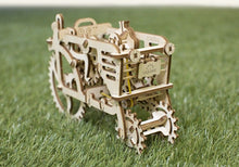 Load image into Gallery viewer, UGears  NO GLUE REQUIRED Antique Style Farm Tractor - 97 Pieces (Easy) UGR70003