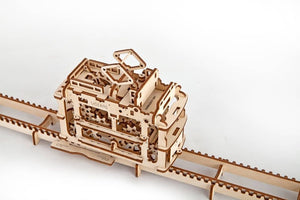 UGears  NO GLUE REQUIRED Tram On Rails - 154 Pieces (Medium) UGR70008 ($55 Incl Tax)