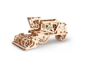 UGears NO GLUE REQUIRED  Combine Harvester - 154 Pieces (Easy) UGR70010 ($55 Incl Tax)