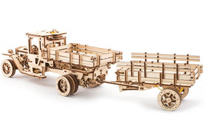UGears NO GLUE REQUIRED Add-Ons for UGM-11 Truck - 322 Pieces (Advanced) UGR70018 ($100 Incl Tax)