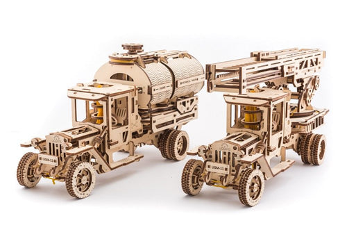 UGears NO GLUE REQUIRED Add-Ons for UGM-11 Truck - 322 Pieces (Advanced) UGR70018