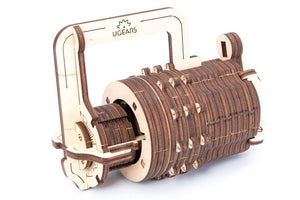 UGears  NO GLUE REQUIRED Combination Lock - 34 Pieces (Easy) UGR70020 ($30 Incl Tax)