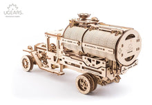 Load image into Gallery viewer, UGears  NO GLUE REQUIRED Mechanical Tanker Truck - 594 Pieces (Advanced) UGR70021