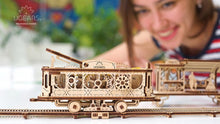 Load image into Gallery viewer, UGears  NO GLUE REQUIRED Tram Line - 248 Pieces (Medium) UGR70028
