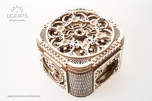 Load image into Gallery viewer, UGears NO GLUE REQUIRED Mechanical Treasure Box - 190 Pieces (Medium) UGR70031