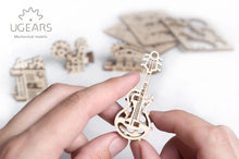 Load image into Gallery viewer, UGears Natural Wood NO GLUE REQUIRED U-Fidgets Creation (4 Models) (Easy) UGR70041
