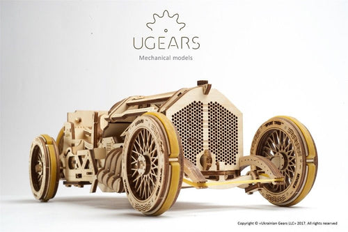 UGears  NO GLUE REQUIRED U-9 Grand Prix Car - 348 Pieces (Advanced) UGR70044 ($60 Incl Tax)