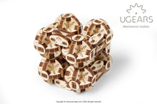 Load image into Gallery viewer, UGears  NO GLUE REQUIRED Flexi Cubus - 144 pieces (Easy) UGR70049