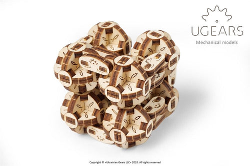 UGears  NO GLUE REQUIRED Flexi Cubus - 144 pieces (Easy) UGR70049 ($13 Incl Tax)