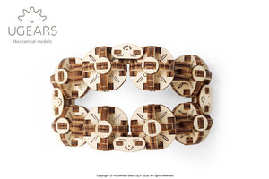 UGears  NO GLUE REQUIRED Flexi Cubus - 144 pieces (Easy) UGR70049