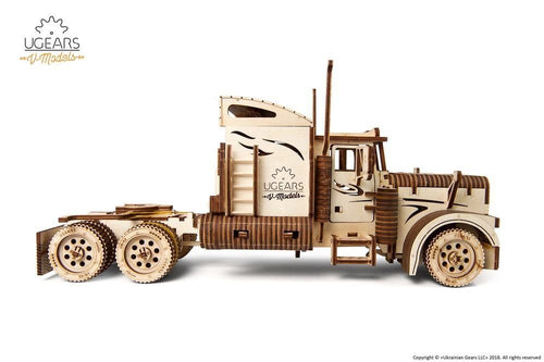 UGears  NO GLUE REQUIRED  Heavy Boy Semi Truck VM-03 - 541 Pieces (Advanced) UGR70056 ($100 Incl Tax)
