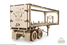 Load image into Gallery viewer, UGears  NO GLUE REQUIRED  Trailer for Heavy Boy Semi Truck VM-03 - 138 Pieces (Medium) UGR70057 ($45 Incl Tax)
