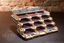 Load image into Gallery viewer, UGears  NO GLUE REQUIRED Gamers Card Holder - 77 pieces (Medium) UGR70068 ($45 Incl Tax)