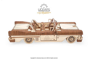 UGears  NO GLUE REQUIRED Dream Cabriolet VM-05 Model - 739 pieces (Advanced) UGR70073