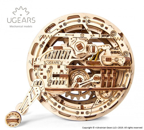 UGears NO GLUE REQUIRED MonoWheel - 300 Pieces (Medium) UGR70080