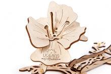 Load image into Gallery viewer, UGears  NO GLUE REQUIRED Butterfly - 161 Pieces (Medium) UGR70081 ($52 Incl Tax)