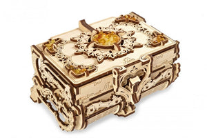 UGears  NO GLUE REQUIRED Amber Jewelry Box - 189 Pieces (Medium) UGR70090
