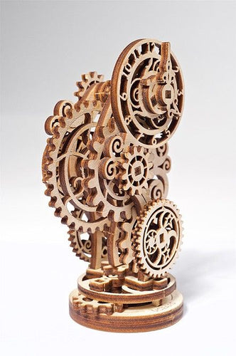 UGears Steampunk Working Clock - NO GLUE REQUIRED 43 Pieces (Easy) UGR70093